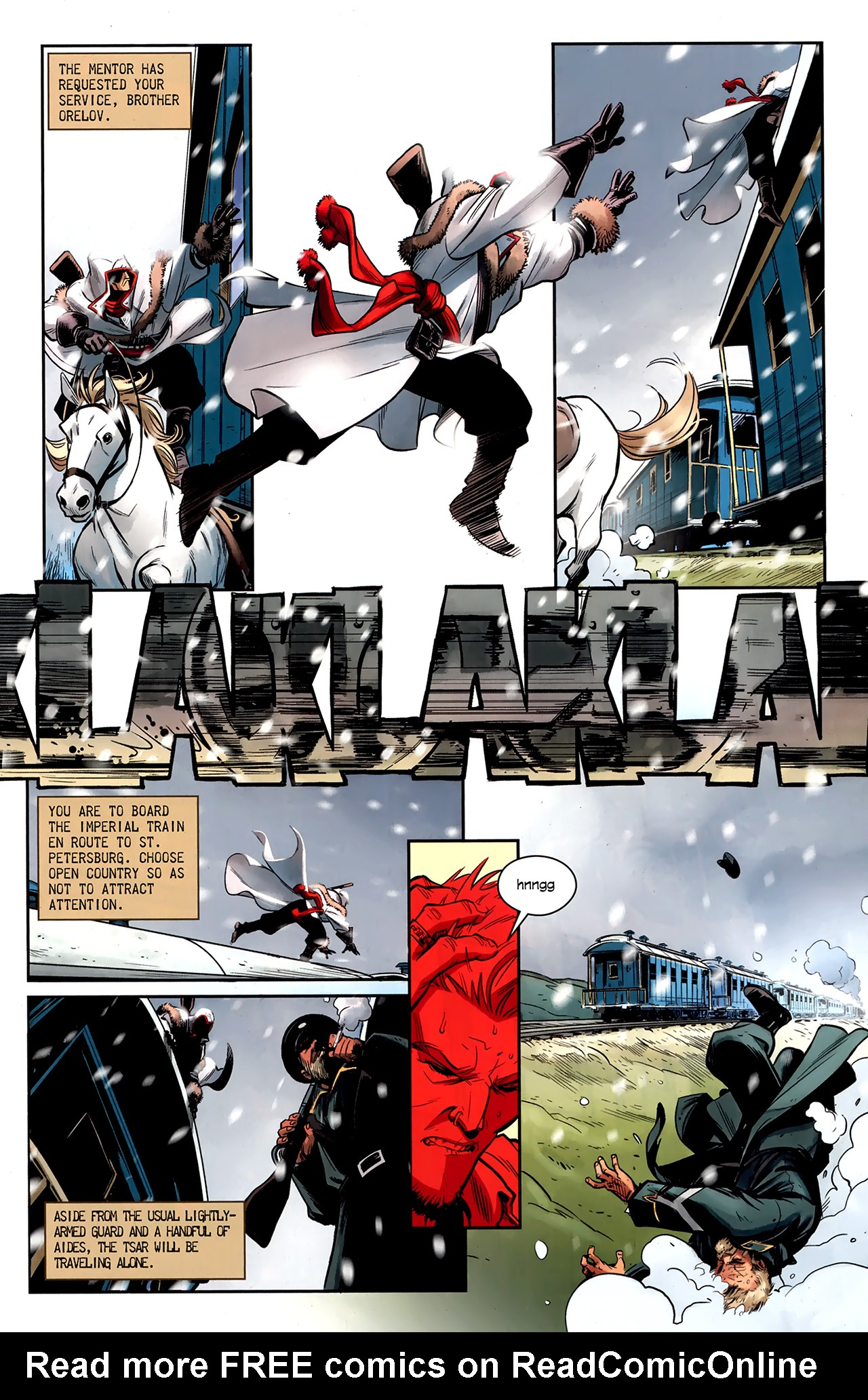 Read online Assassin's Creed: The Fall comic -  Issue #1 - 12