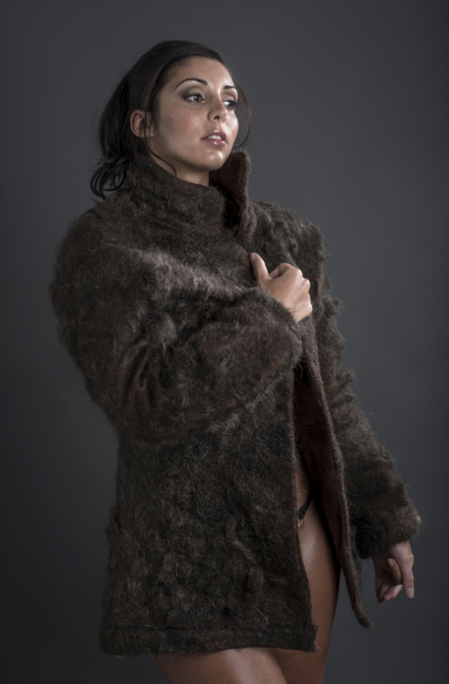 Man-Fur Coat