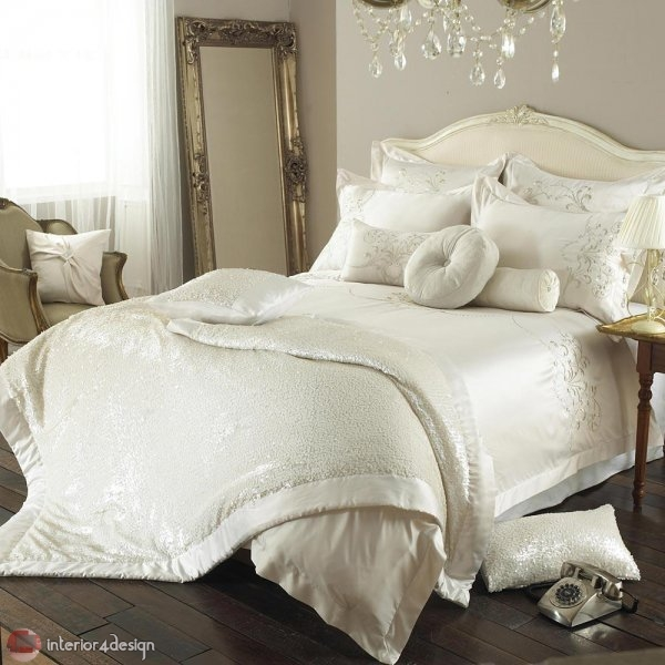 Modern Bed Embroidered Linens 3