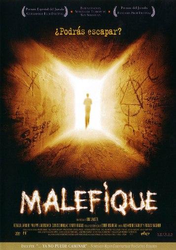 Malefique, Portada DVD edición española