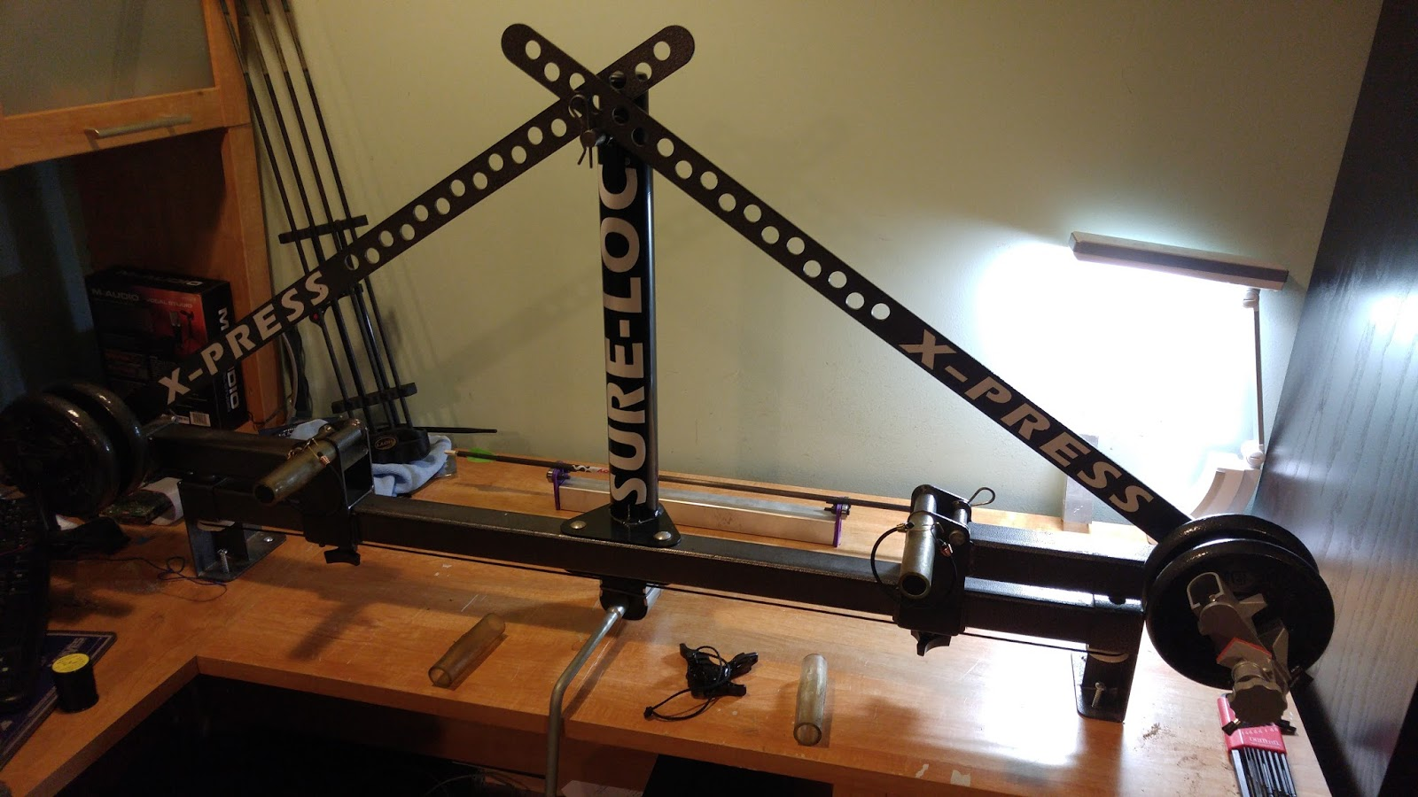 Adventures in DIY Engineering: Old Sure-loc Xpress Bow Press Upgrade