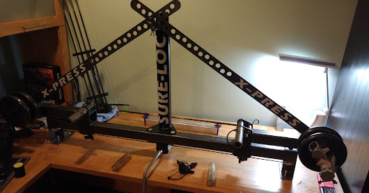 Old Sure-loc Xpress Bow Press Upgrade for Parallel limb bows