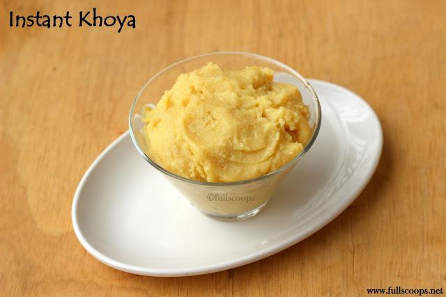 Instant Khoya