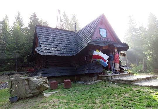Kaplica na Polanie Rusnakowej.