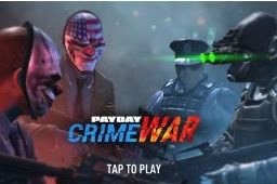 PAYDAY Crime War APK+DATA 180906.1826 Android Multiplayer Coop Shooter