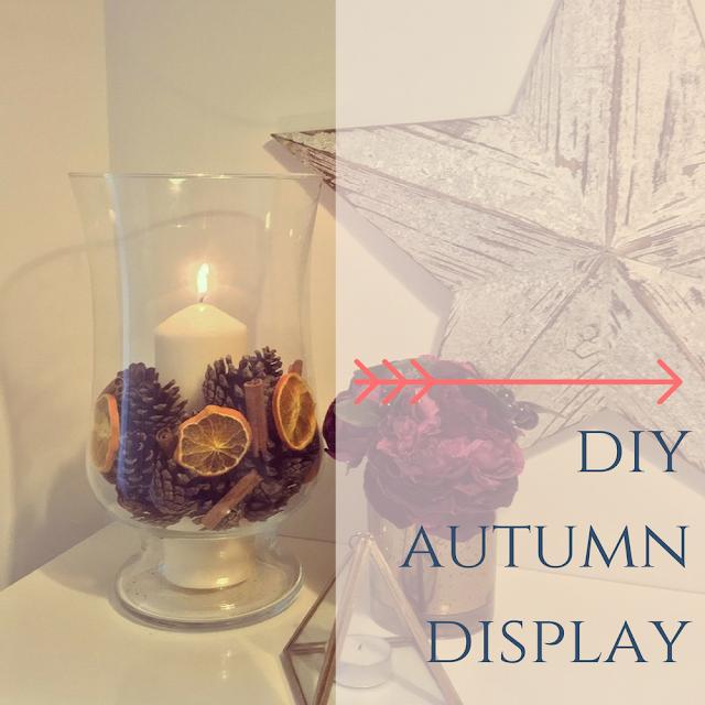 DIY Autumn display idea from dovecottageblog.com