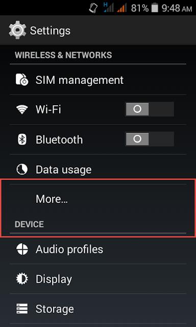 net kaise used kar android mobile se