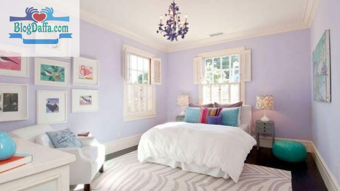Warna kamar tidur Lilac