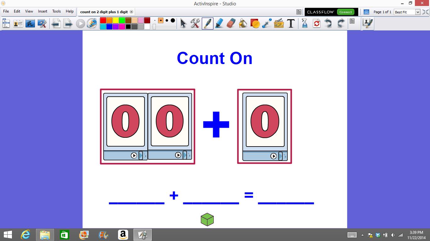 Mrs T S First Grade Class Promethean Math Flipcharts