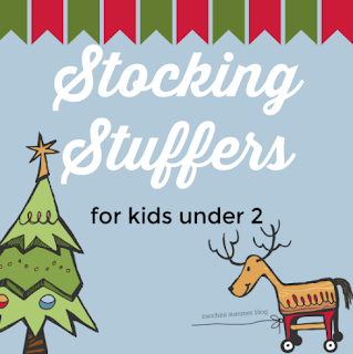 stocking stuffer baby ideas, baby christmas gifts, what to put in a baby's stocking, zucchini summer stocking ideas