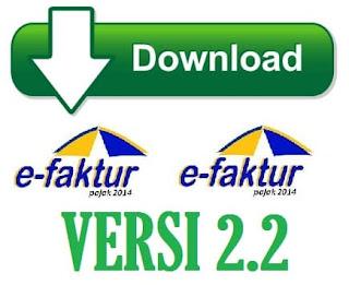 Download aplikasi Efaktur Versi 2.2 Terbaru
