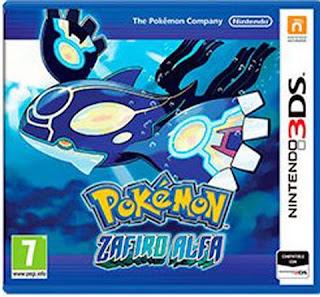 Pokemon Zafiro Alfa 3DS, Español, mega