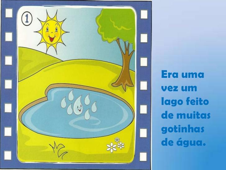 História Gotinhas de Água