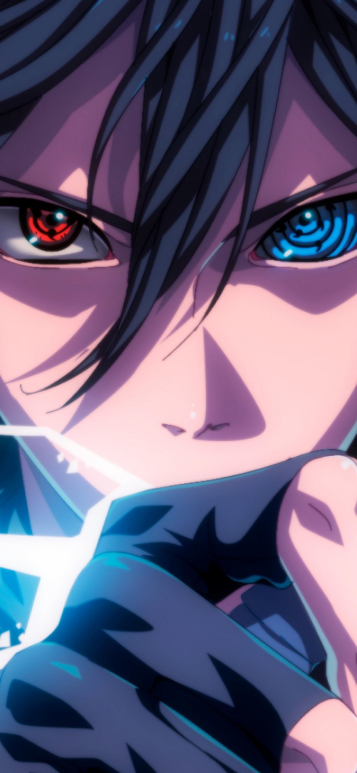 Sasuke Sharingan Rinnegan Eyes Lightning 4k Wallpaper 33