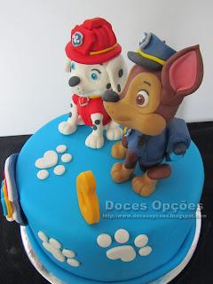 bolo patrulha canina bragança