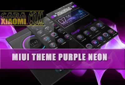 download MIUI Theme Purple Noen 光弧 Mtz V1.0.0.5 Tema Versi Terbaru For Xiaomi