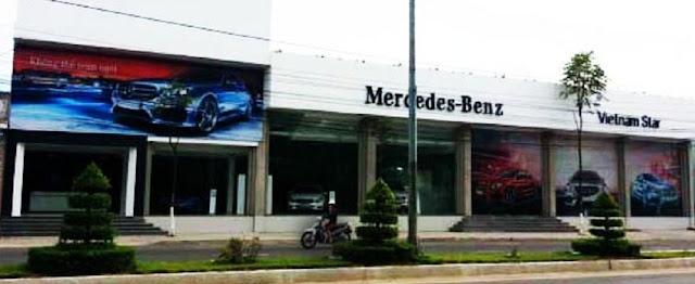 Đại lý Mercedes Nha Trang