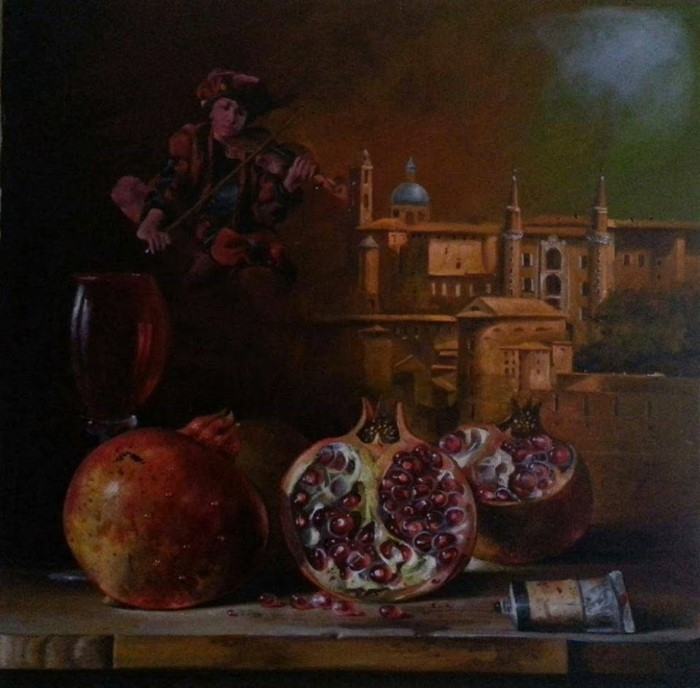 Сербский художник-реалист. Dusan Jovanovic 5