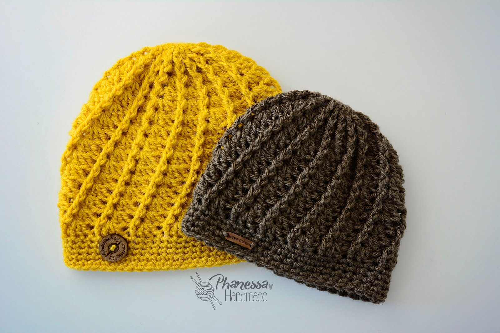 Handmade by Phanessa  Crochet Spiral Hat f0c762859cf