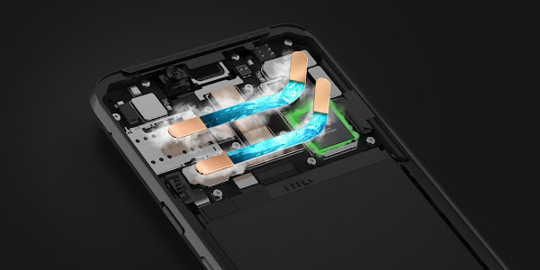 Xiaomi Black Shark Helo (cooling system)