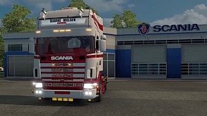 Red Passion Scania Rizal truck mod