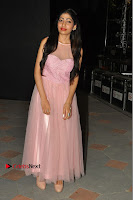 Actress Nidhisha Reddy Pos in Beautiful Pink Dress at Virus Telugu Movie Audio Launch .COM 0046.JPG