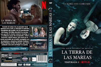 CARATULA TIDELANDS - LA TIERRA DE LAS MAREAS - TEMPORADA 1 2018 [COVER DVD]