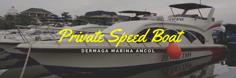 private speed boat jelajah tiga pulau