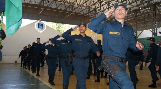 Governo do Estado do Mato Grosso do Sul entrega mais de 50 policiais militares para o município de Corumbá