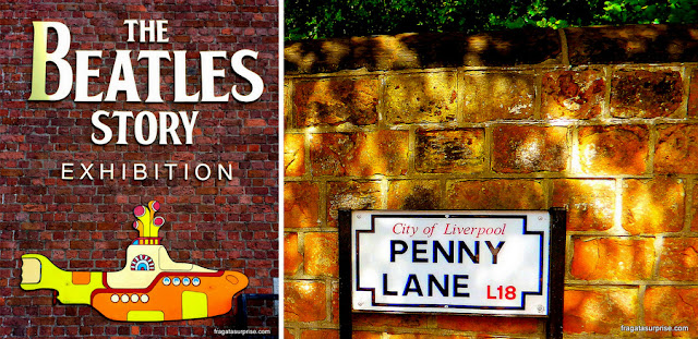 The Beatles Story e Penny Lane, Liverpool