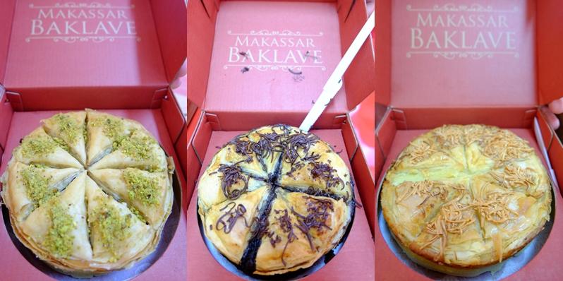Kue Khas Makassar Baklave