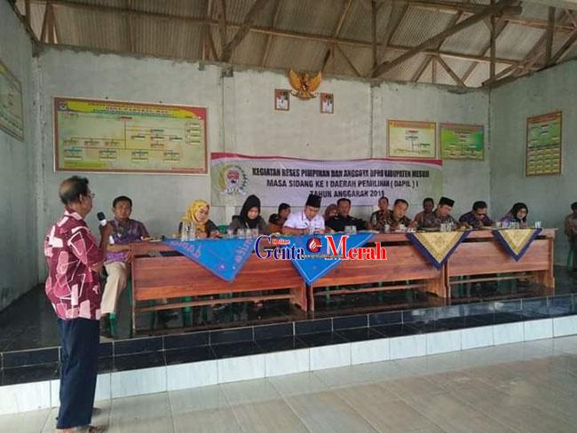 Jaring Aspirasi Masayarakat, DPRD Mesuji Lakukan Reses