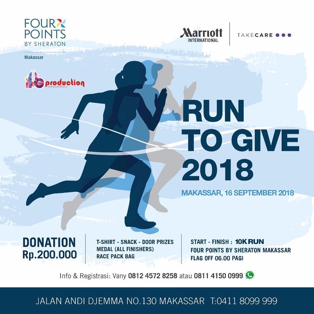Run to Give - Makassar • 2018