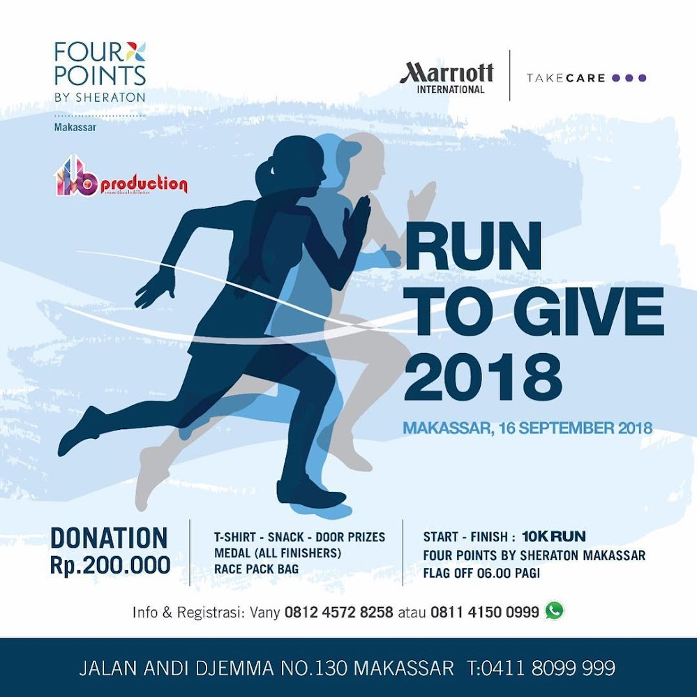Run to Give - Makassar • 2018