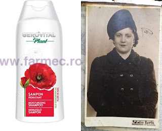 sampon hidratant cu ulei de flori de mac