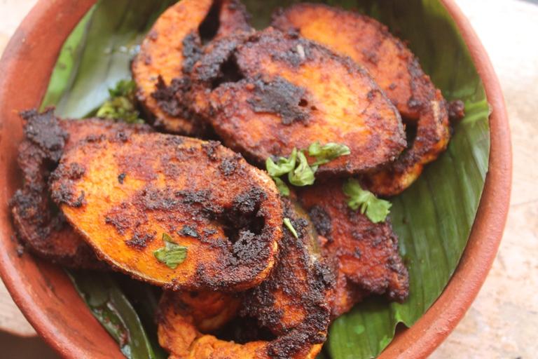 Andhra fish fry recipe andhra chepa vepudu recipe for How do you fry fish