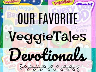 Veggietales Devotionals and a GIVEAWAY