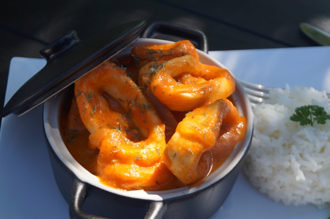 recette calamar armoricaine