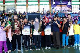 NTB Pelopori Pekan Kreasi Olahraga Difabel, Wagub NTB Beri Semangat Anak- Anak Disabilitas Untuk Terus Berprestasi