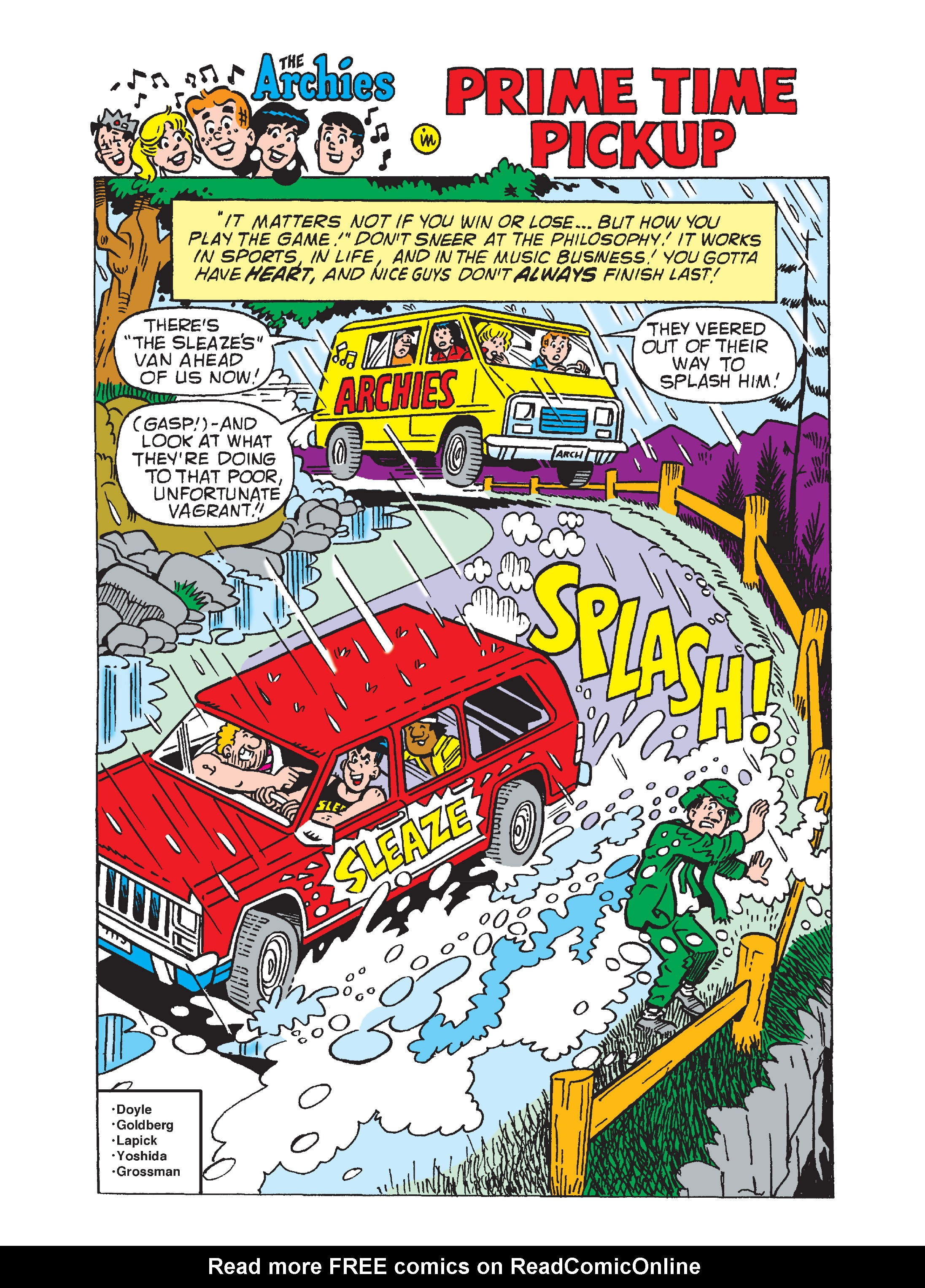 Read online Archie's Funhouse Double Digest comic -  Issue #8 - 94