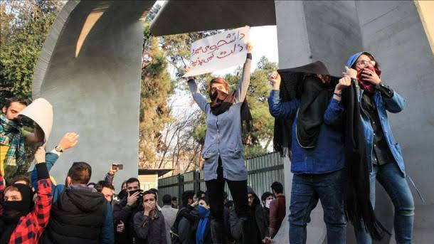 Cuarto día de manifestaciones anti-gobierno en Irán