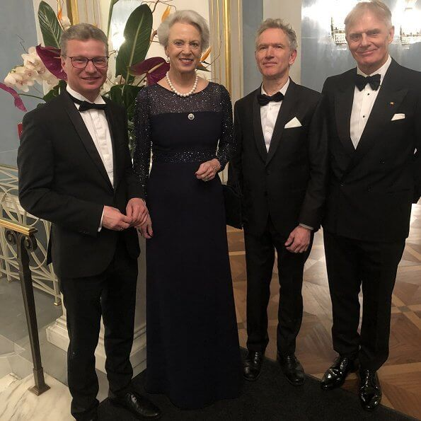 DE-DK Cultural Friendship Year 2020, Princess Benedikte of Denmark attended a state reception in Munich city of Germany