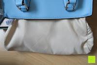 Tasche: Veevan Damen Elegante Top-Handle Schultertasche Handtaschen (Blau)
