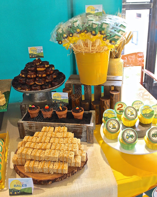 Celebrate with Cake!: Farm Themed Dessert Table (Click on ...
