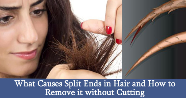 What Causes Split Ends in Hair and How to Remove it without Cutting