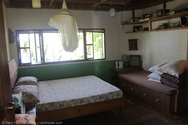Bedroom of the place in Lumot Lake, Cavinti, Laguna