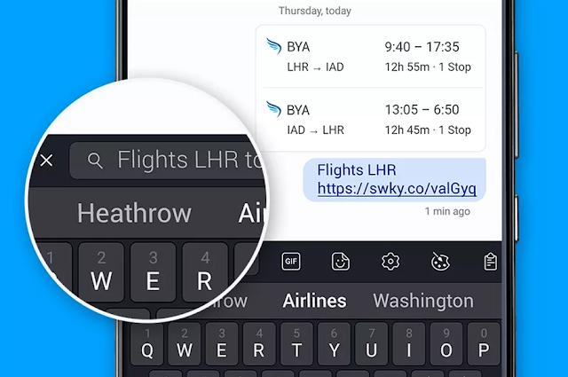 يضيف SwiftKey خيار البحث إلى لوحة المفاتيح الخاصة به على أندرويد