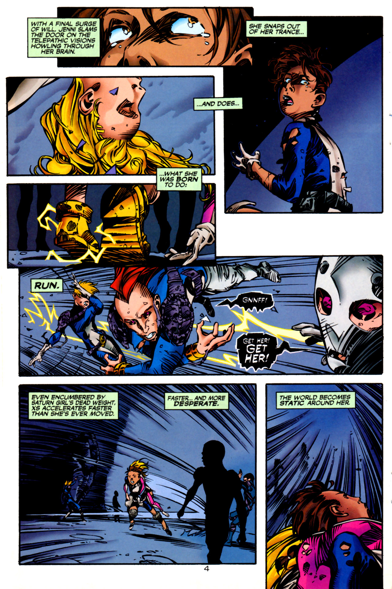 Legion of Super-Heroes (1989) 123 Page 4