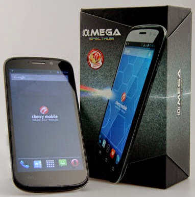 Cherry Mobile Omega Spectrum, Cherry Mobile Quad Core
