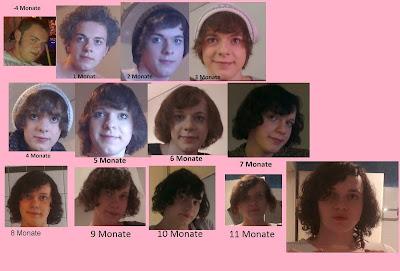 Hormone transsexuell transsexualität timeline nina radtke 1 jahr estradiol cyproteron spironolacton mann zu frau